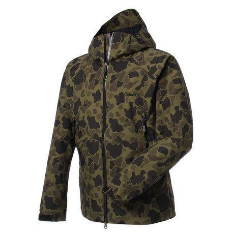 コロンビアのデクルーズサミットパターンドジャケット