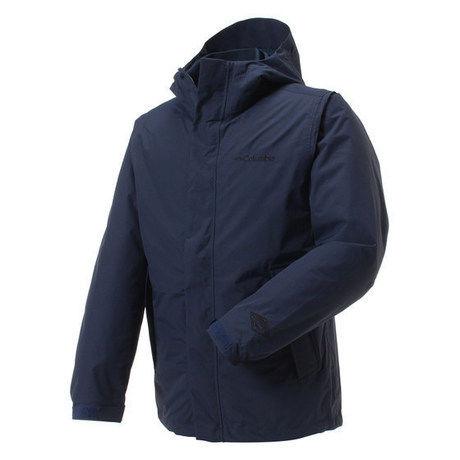 コロンビアのオレルジャケット