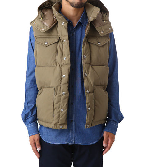 Hooded Sierra Vest(THE NORTH FACE PURPLE LABEL)