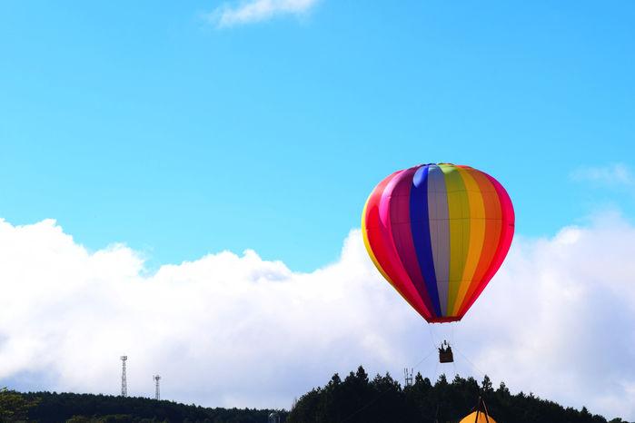 気球体験の様子