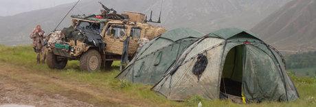 ヒルバーグの軍用向けモデルMILラインのテント