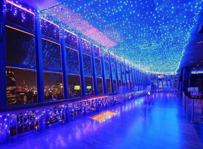 東京タワー内の特別展望台