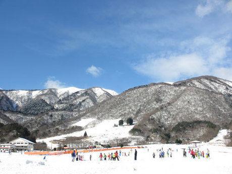 マキノ高原スキー場のゲレンデ
