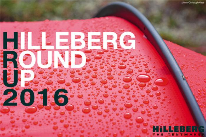 HILLEBERG ROUND UP 2016のポスター