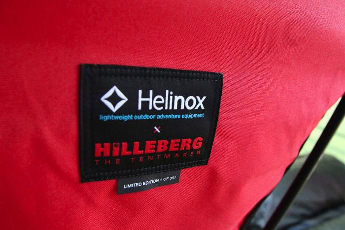 ヘリノックスとヒルバーグのロゴマーク