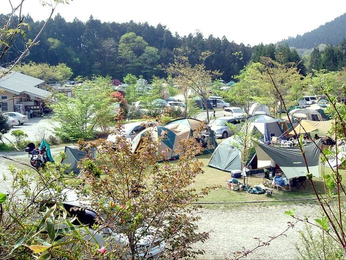 那須たかはらオートキャンプ場の様子