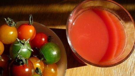 ホットハニージンジャートマト