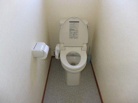 おいしいキャンプ場のトイレ