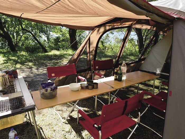 スノーピークのテント、トルテュの内観