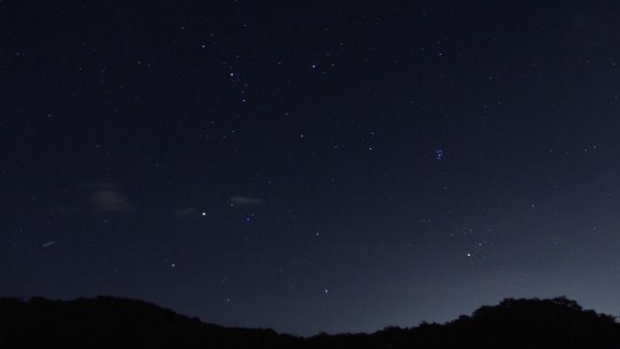 森と星空のヴィレッジの星空