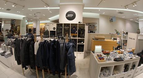 globe walker 札幌ステラプレイス店の店内