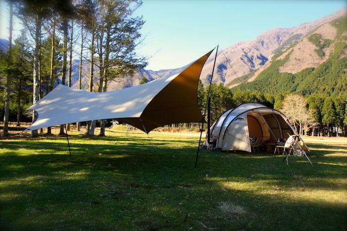 SOTOLABOのキャンプグッズを用いたキャンプイメージ