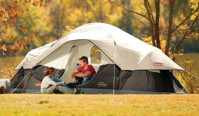 日本では発売されていないコールマンのテント