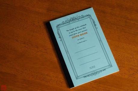 オリジナルノート用のノート
