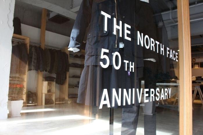 ノースフェイス50周年記念コレクションのロゴ