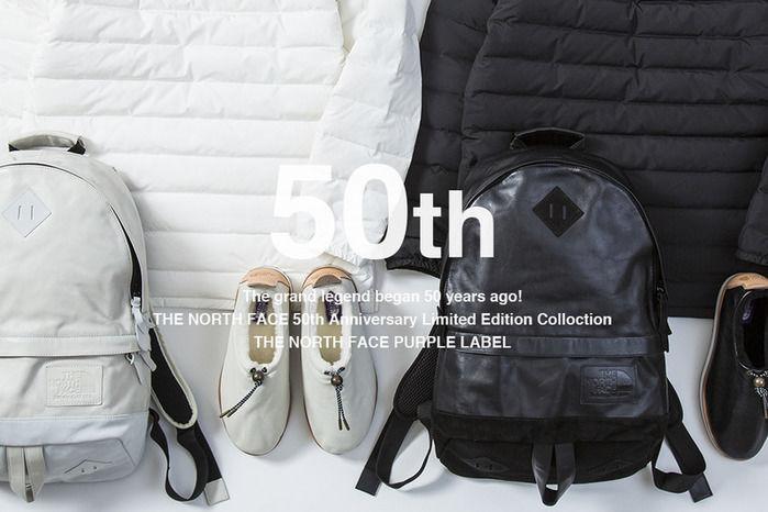 ノースフェイス50周年記念コレクション