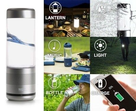 PLAYFUL BASE / LANTERN SPEAKER BOTTLE.の機能