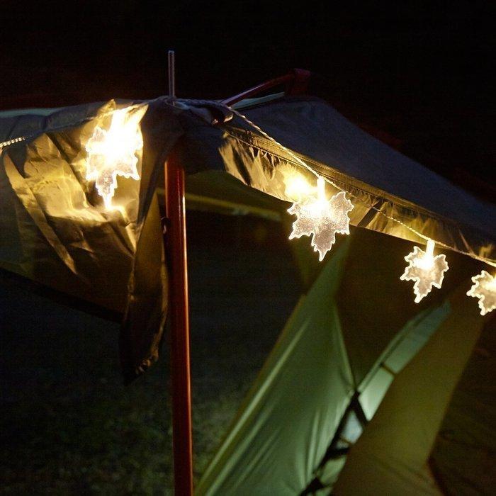 ガーランドだけじゃない!テントをおしゃれにかわいく飾ろう!