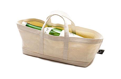 福光屋の一升瓶帆布トートバッグ