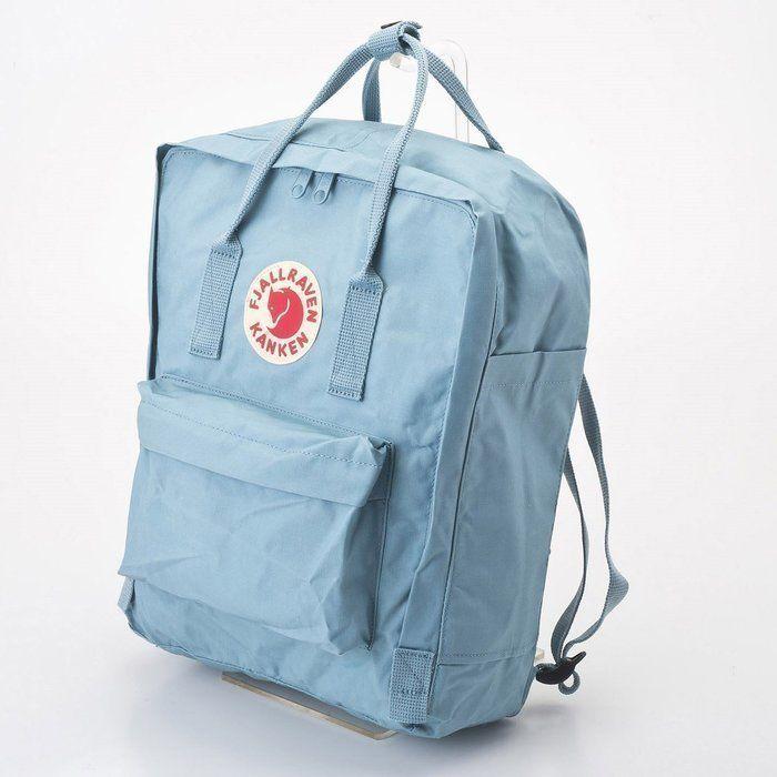 フェールラーベンのカンケンバッグの水色