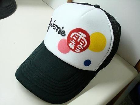 レインウェアのとき視界を開けるための帽子