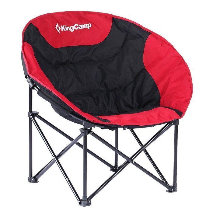 快適な座り心地のキングキャンプチェア