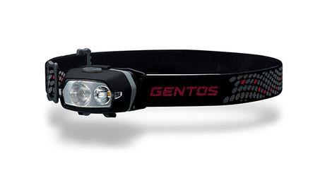 ジェントスのマッチボックス形状のヘッドライト