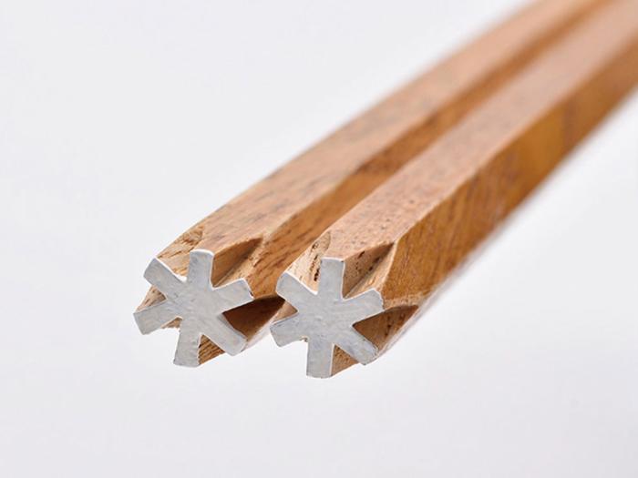 スノーピークの六角箸