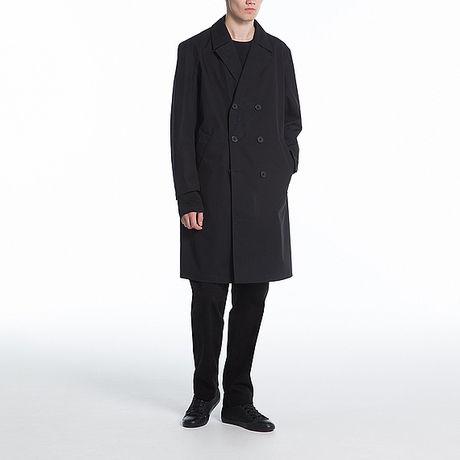 ブロックテックコートの着画