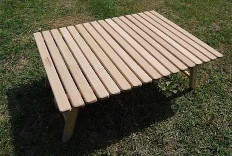 キャンプマニアのローテーブル