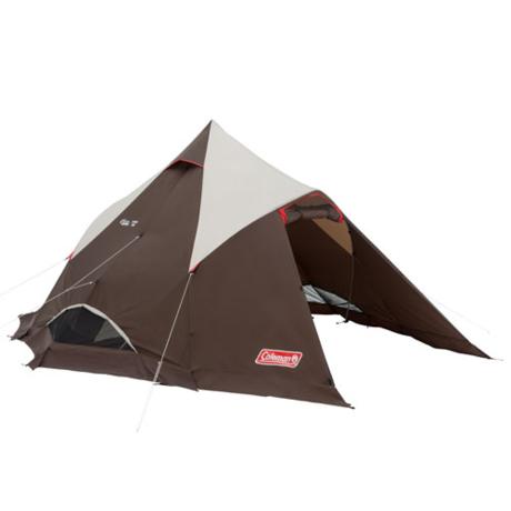 コールマンのマスターシリーズのティピー型テント