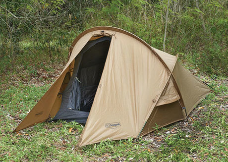 トンネル型のテント