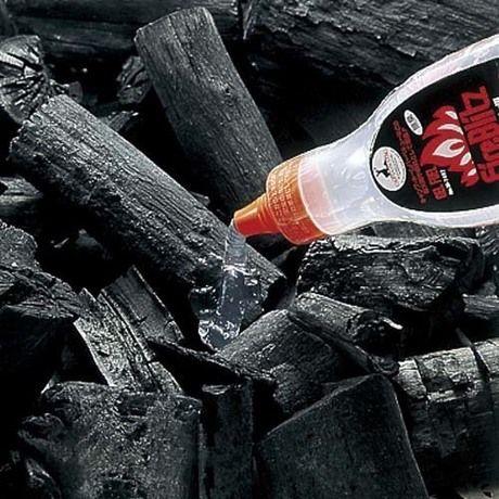 ジェルタイプの着火剤使用例