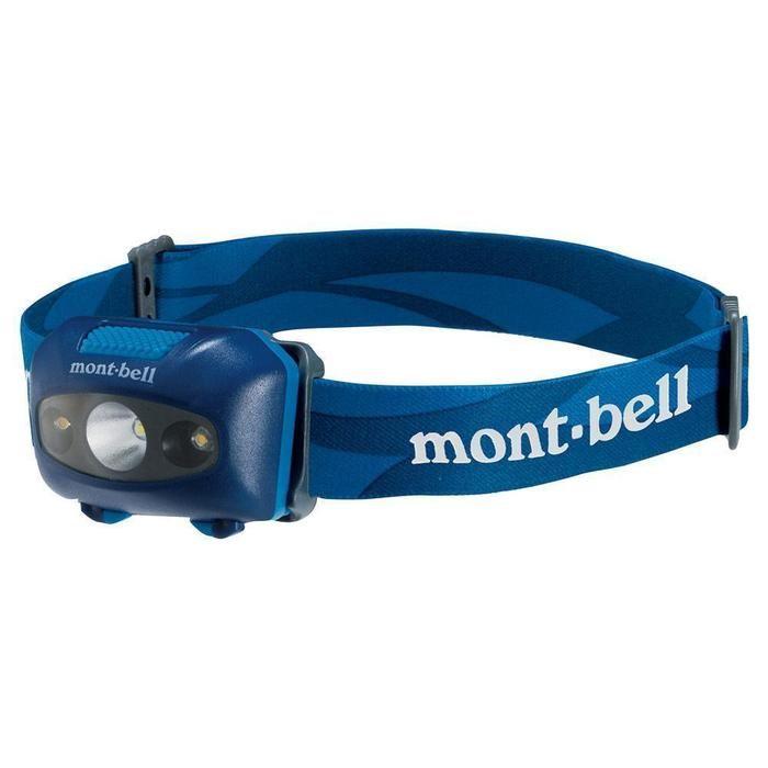 モンベルのヘッドライト