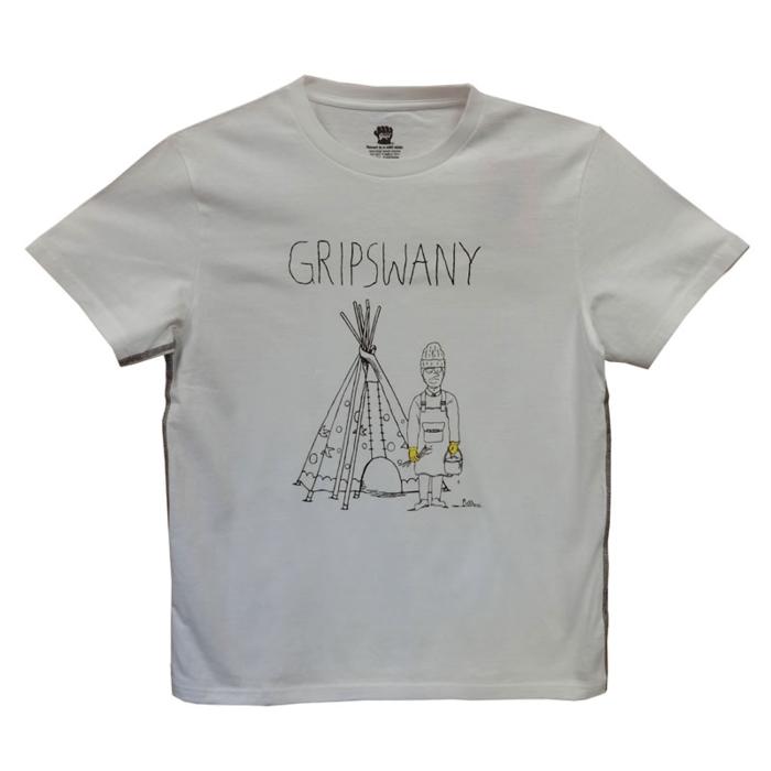 グリップスワニーのTシャツ