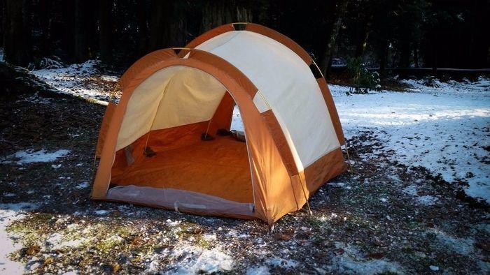 ヨーレイカのテント
