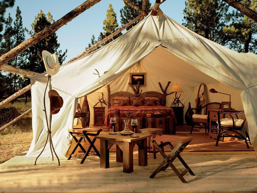 魅力的で贅沢なキャンプという意味のグランピングが国内でも楽しめるキャンプ場