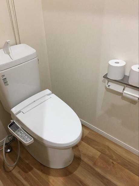 成田ゆめファミリーオートキャンプ場のトイレ