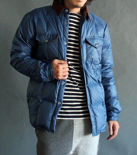 マナスタッシュのジャケットを着た男性