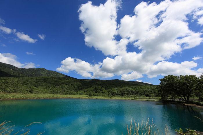 八幡平の八幡沼