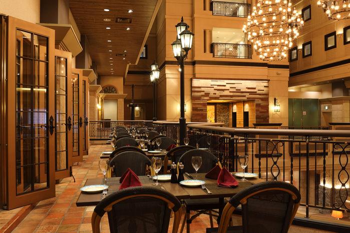 キロロリゾートのホテル、トリビュートポートフォリオホテル 北海道の温泉のイタリアンレストラン「アラ・モーダ」