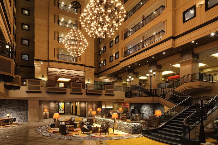 キロロリゾートのホテル、トリビュートポートフォリオホテル 北海道のフロント