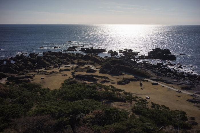 南房総の海が輝く風景