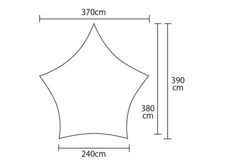 ササビウィングシリーズの基本の形と大きさ