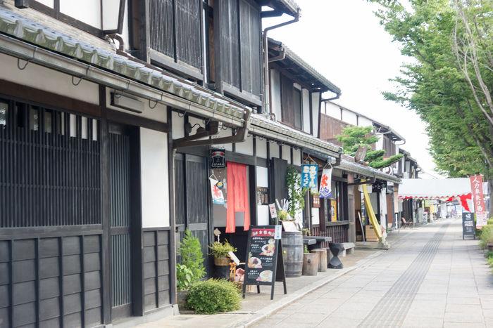 夢京橋キャッスルロード、花しょうぶ通り商店街