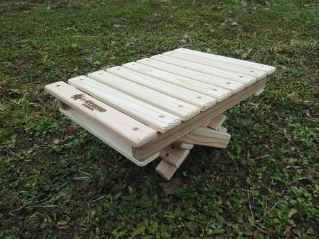 アイアールベース マキダイminiと木箱のどちらでもいける テーブル天板mini ALL杉