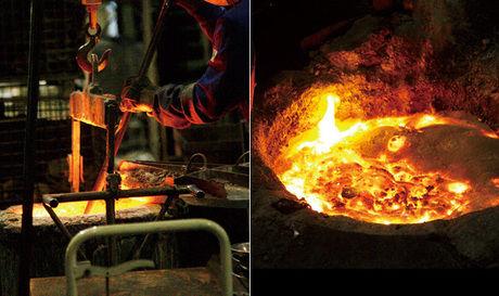 スノーピークの和鉄ダッチオーブンを作る様子