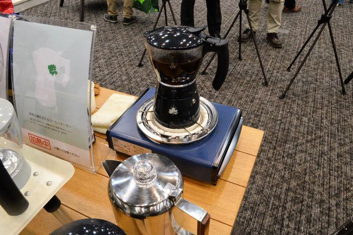 ロゴスのクリアコーヒーメーカー