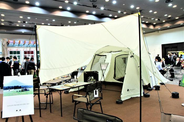 ロゴスのグランベーシック トンネルドーム XL-AGテント