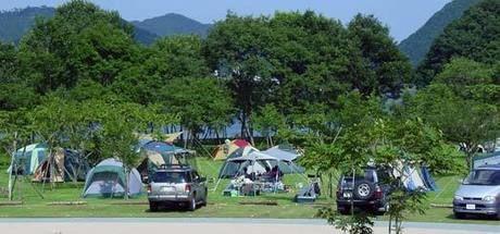 エコキャンプみちのくのキャンプサイト